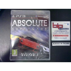 ABSOLUTE SUPERCARS PS3...