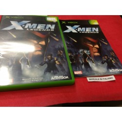 X MEN LEGENDS XBOX PAL USATO