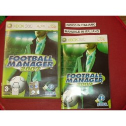 FOOTBALL MANAGER 2007 XBOX...