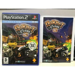 RATCHET & CLANK 3 PS2 PAL...