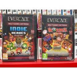 EVERCADE INDIE HEROES E WORMS!