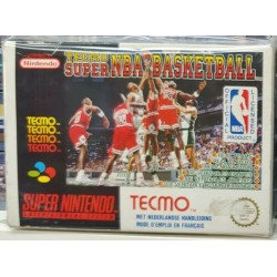 TECMO SSUPER NBA BASKETBALL...