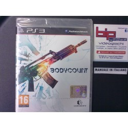 BODYCOUNT PS3 PLAYSTATION 3...